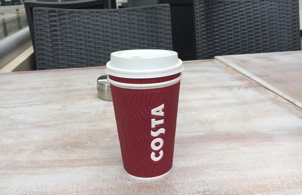 2 Costa Coffee τη μέρα...