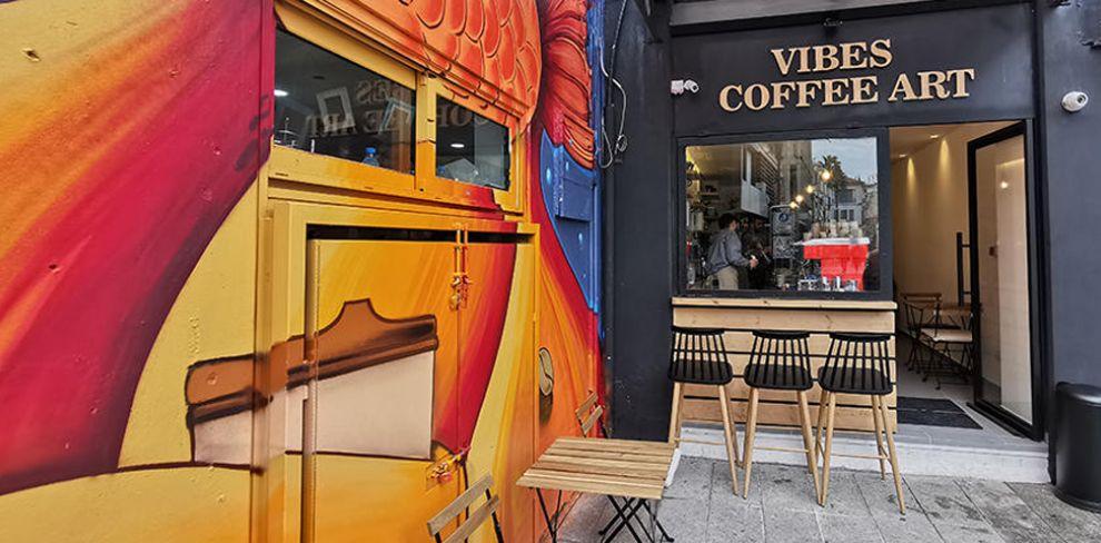Vibes Coffee Art